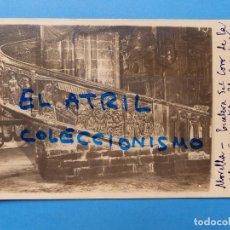 Postales: MORELLA, CASTELLON - EN FIESTAS - POSTAL FOTOGRAFICA - AÑO 1934. Lote 129416755