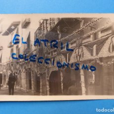 Postales: MORELLA, CASTELLON - EN FIESTAS - POSTAL FOTOGRAFICA - AÑOS 1930. Lote 129430099