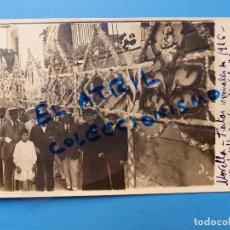 Postales: MORELLA, CASTELLON - EN FIESTAS - POSTAL FOTOGRAFICA - AÑO 1916. Lote 129431759
