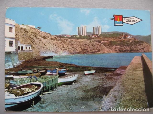 MORAIRA PUERTO PERGAMINO Nº 3222 (Postales - España - Comunidad Valenciana Moderna (desde 1940))