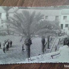 Postales: ANTIGUA POSTAL DE SAN FULGENCIO EN ALICANTE AÑOS 60. Lote 129573035