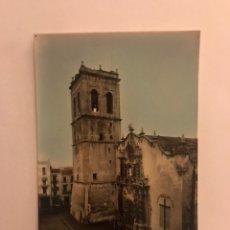 Postales: VINAROZ (CASTELLÓN) POSTAL NO. 10. IGLESIA PARROQUIAL Y TORRE. EDITA: EDICIONES T. MIRALLES (H.1950?. Lote 130014055