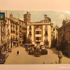 Postales: SEGORBE (CASTELLÓN) POSTAL NO.2 PLAZA DEL GENERALISIMO. EDITA: COMAS ALDEA (H.1970?). Lote 130020866