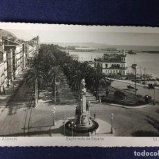 Postales: POSTAL ALICANTE EXPLANADA DE ESPAÑA 3 ED ARRIBAS ESCRITA CIRCULADA. Lote 130224498
