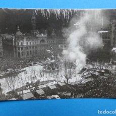 Postales: VALENCIA - FALLAS PLAZA DEL CAUDILLO - POSTAL FOTOGRAFICA. Lote 130421586