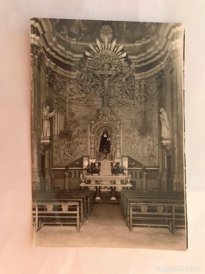 ONDA (CASTELLÓN) POSTAL NO. 1008. INTERIOR IGLESIA PARROQUIAL. EDITA: EDICIONES ROMERO (A.1974) (Postales - España - Comunidad Valenciana Moderna (desde 1940))