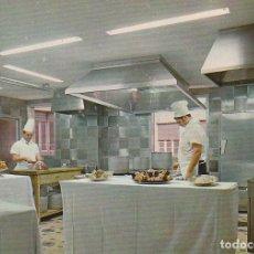 Postales: RARA CURIOSA POSTAL COCINA HOTEL EUROPA CALLE RIBERA VALENCIA. FOTOCOLOR VALMAN 1969 SIN CIRCULAR AA. Lote 130969336