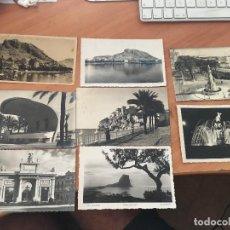 Postales: LOTE 8 POSTALES ALICANTE Y VALENCIA. AÑOS 50 (CRIP2). Lote 131049820