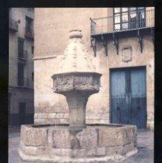 Postales: POSTAL DE XATIVA: FONT DE LA TRINITAT I PALAU D'ALARCÓ (ED.AJUNTAMENT). Lote 131070212