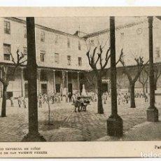 Postales: VALENCIA COLEGIO IMPERIAL DE NIÑOS HUÉRFANOS DE SAN VICENTE FERRER. PATIO DE NIÑOS. Lote 131103508