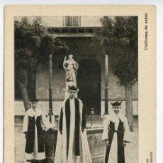 Postales: VALENCIA COLEGIO IMPERIAL DE NIÑOS HUÉRFANOS DE SAN VICENTE FERRER. UNIFORME DE NIÑOS. Lote 131103724