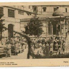 Postales: VALENCIA COLEGIO IMPERIAL DE NIÑOS HUÉRFANOS DE SAN VICENTE FERRER. PATIO DE NIÑAS. Lote 131103848