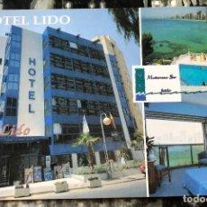 Postales: HOTEL LIDO, BENIDORM, ALICANTE. POSTAL NUEVA.. Lote 222395147
