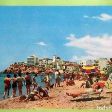 Postales: BENIDORM (ALICANTE). 226 PLAYA DE LEVANTE. ED. JUQUEMO. NUEVA. COLOR. Lote 131357647