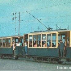 Postales: TRANVIAS DE VALENCIA COTXE 137 I REMOLC TORRES DE SERRANO - AMIGOS DEL FERROCARRIL - -C-3. Lote 131534814