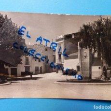 Postales: ALTURA, CASTELLON - MONUMENTO Y FUENTE EL BERRO - POSTAL FOTOGRAFICA. Lote 131607834