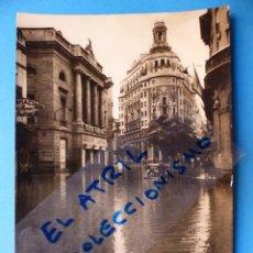 Postales: VALENCIA - CALLE DE LAS BARCAS, RIADA - AÑO 1957. Lote 131771242