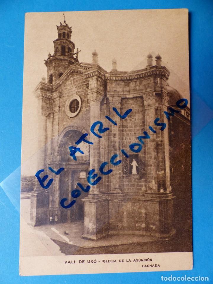 VALL DE UXO, CASTELLON - IGLESIA DE LA ASUNCION, FACHADA (Postales - España - Comunidad Valenciana Antigua (hasta 1939))