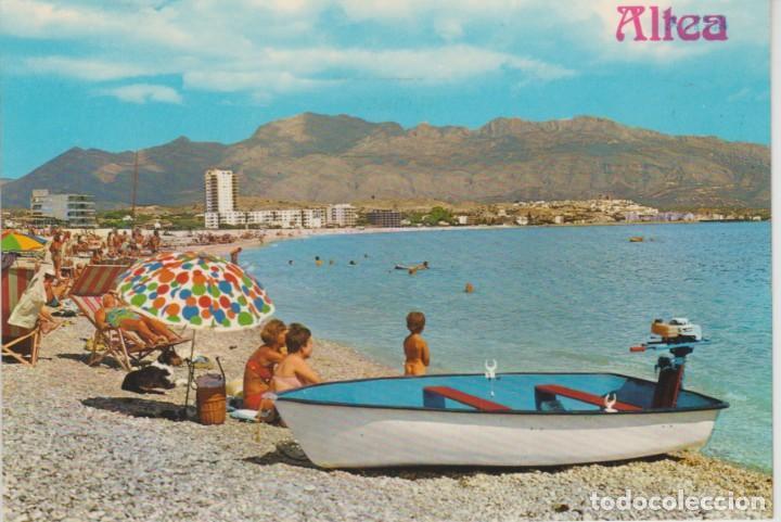 Moderne 28) altea. alicante. playa del albir - Comprar Postales de la VZ-65