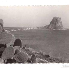 Postales: ALICANTE. CALPE.- PEÑON DE IFACH. ED.GARCIA GARRABELLA. Lote 174095674