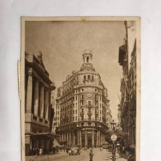 Postales - VALENCIA. Postal (ANIMADA. Calle de las Barcas. Banco de Valencia. Edita: JDP (a.1949) - 132263774