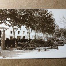 Postales: POSTAL PUEBLO DE ALGEMESÍ. VALENCIA. PARQUE JARDÍN. FOTO TALENS. Lote 132316694
