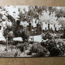 Postales: POSTAL PUEBLO DE ALGEMESÍ. VALENCIA. PARQUE JARDÍN. FOTO TALENS. Lote 132317058