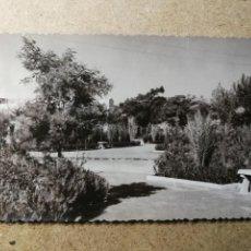Postales: POSTAL PUEBLO DE ALGEMESÍ. VALENCIA. PARQUE JARDÍN. FOTO TALENS. Lote 132317822