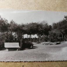 Postales: POSTAL PUEBLO DE ALGEMESÍ. VALENCIA. PARQUE JARDÍN. FOTO TALENS. Lote 132318010