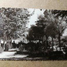 Postales: POSTAL PUEBLO DE ALGEMESÍ. VALENCIA. PARQUE JARDÍN. FOTO TALENS. Lote 132318310