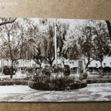 Postales: POSTAL PUEBLO DE ALGEMESÍ. VALENCIA. PARQUE JARDÍN. FOTO TALENS. Lote 132318454