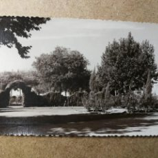 Postales: POSTAL PUEBLO DE ALGEMESÍ. VALENCIA. PARQUE JARDÍN. FOTO TALENS. Lote 132318566