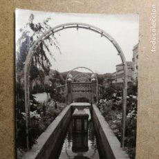 Postales: POSTAL PUEBLO DE ALGEMESÍ. VALENCIA. PARQUE JARDÍN. FOTO TALENS. Lote 132318906