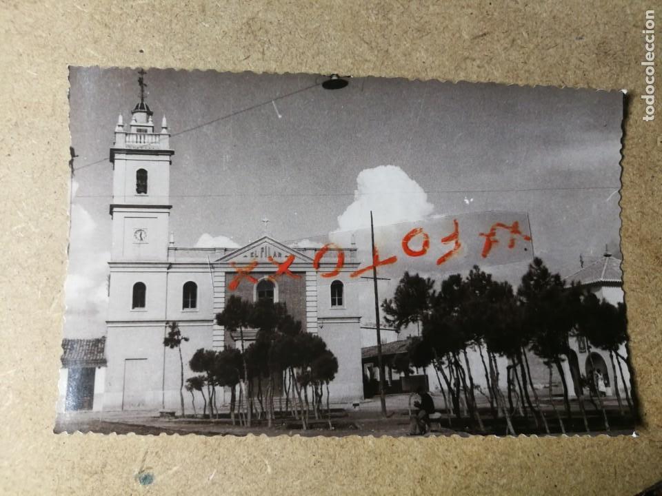 POSTAL PUEBLO DE ALGEMESÍ. VALENCIA. IGLESIA DEL PILAR. FOTO TALENS (Postales - España - Comunidad Valenciana Moderna (desde 1940))