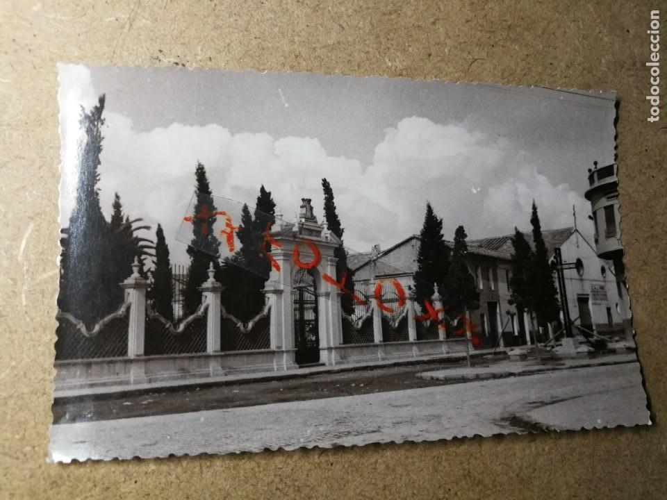 POSTAL PUEBLO DE ALGEMESÍ. VALENCIA. CRIPTA Y CRUZ DE LOS CAÍDOS. FOTO TALENS (Postales - España - Comunidad Valenciana Moderna (desde 1940))