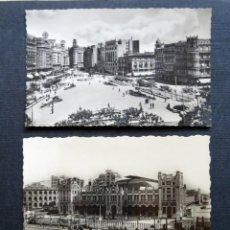 Postales: 3 ANTIGUAS POSTALES DE VALENCIA. AÑOS 50 , VER FOTOS. Lote 132570098