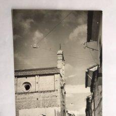 Postales: TABERNES DE VALLDIGNA (VALENCIA) POSTAL IGLESIA PARROQUIAL DE SAN JOSÉ. EDITA: PAP. FERRANDO (A.1966. Lote 132617007