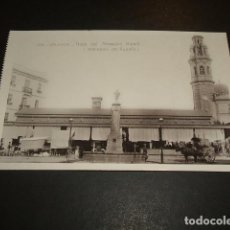 Postais: VALENCIA PLAZA DEL MAESTRO RIPOLL MERCADO DE RUZAFA. Lote 132730462