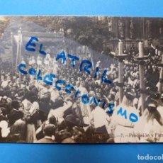 Postales: MORELLA, CASTELLON - PROCESION Y FIESTAS - POSTAL FOTOGRAFICA. Lote 132989090