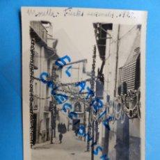Postales - MORELLA, CASTELLON - EN FIESTAS - POSTAL FOTOGRAFICA - AÑO 1928 - 133081702