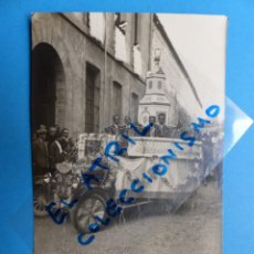 Postales: MORELLA, CASTELLON - EN FIESTAS - POSTAL FOTOGRAFICA - AÑO 1927. Lote 133082866