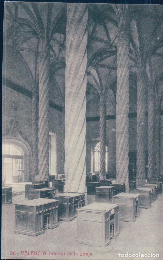POSTAL VALENCIA 86 - INTERIOR DE LA LONJA - THOMAS (Postales - España - Comunidad Valenciana Antigua (hasta 1939))