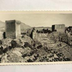 Postales: NOVELDA (ALICANTE) POSTAL. CASTILLO DE LUNA. EDITA: EDICIONES ARRIBAS (H.1950?). Lote 133287769