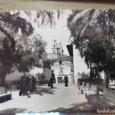 Postales: ANTIGUA FOTOGRAFÍA TARJETA POSTAL JARDINES DEL CASINO ELDA ALICANTE. Lote 133947594