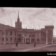 Postales: VALENCIA - CLICHE ORIGINAL - NEGATIVO EN CELULOIDE - AÑOS 1900-1920 - FOTOTIP. THOMAS, BARCELONA. Lote 133951678