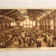 Postales - VALENCIA Postal ANIMADA. Mercado Central. Edita: JDP (h.1940?) - 133985083