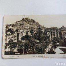 Postales: TARJETA POSTAL - ALICANTE - 156 - PLAZA DEL 14 DE ABRIL - SANCHEZ. Lote 134192798