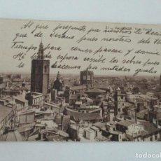 Postales: ANTIGUA TARJETA POSTAL - VALENCIA - VISTA PARCIAL - ED JOSÉ DURÁ - CIRCULADA. Lote 134195530