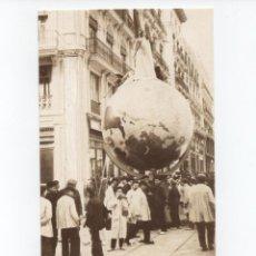 Postais: POSTAL EN BLANCO Y NEGRO DE LAS FALLAS DE VALENCIA IMAGEN DE LA FALLA CALLE PAZ-COMEDIAS AÑO 1907. Lote 134733482