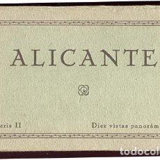 Postales: ALICANTE BLOC COMPLETO CON 10 POSTALES EDICIONES GUTENBERG. Lote 135044138